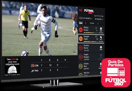 Guía de partidos - Fútbol 360 - Knoxville, TN - TMED SATELLITE UNLIMITED - Distribuidor autorizado de DISH